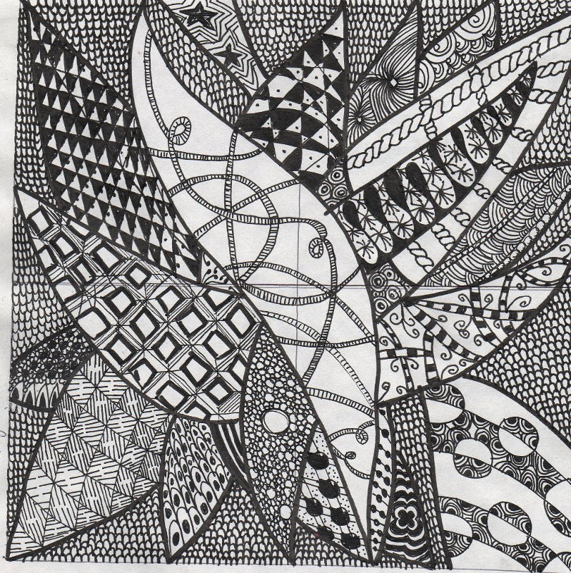 Flower Zentangle Patterns Step By Car Tuning