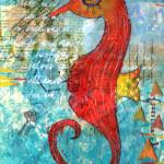 «Fire Seahorse»