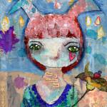 «Alice» custom painting