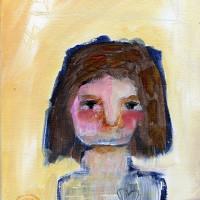 "«<a href=""https://www.etsy.com/ca/listing/187081038/mirabel-8×10-original-primitive-portrait"" target=""_blank"">Mirabel</a>»"