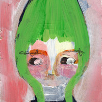 "«<a href=""https://www.etsy.com/ca/listing/187255588/winnie-3×4-original-mixed-media-portrait"" target=""_blank"">Winnie»"