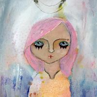 """«<a href=""""https://www.etsy.com/ca/listing/215830061/lara-9×12-original-portrait-painting?"""" target=""""_blank"""" alt """"Lara by Nolwenn Petitbois"""">Lara</a>»"""