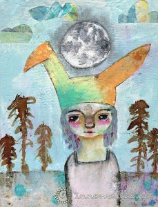 Mixed Media Painting by Nolwenn Petitbois