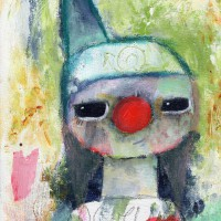 «A clown for you» SOLD