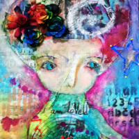 «Nina» comission painting