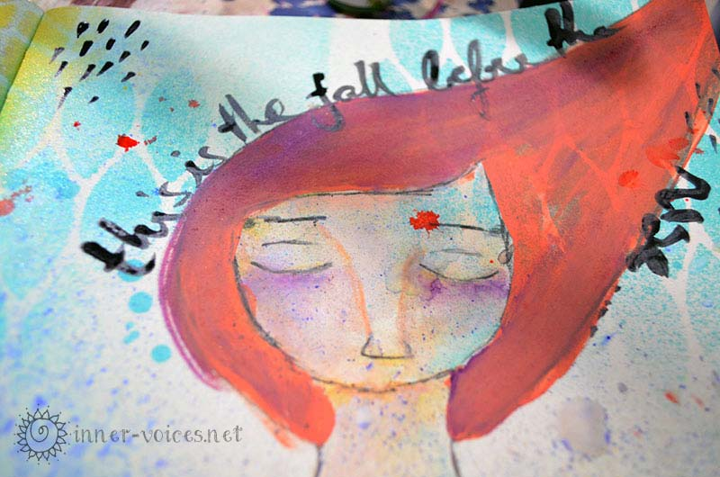 Free fall, face