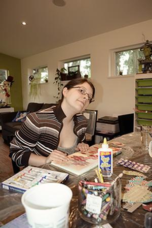 Melissa from YellowMell art