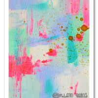 """«<a href=""""https://www.etsy.com/ca/listing/194836343/shine-on-original-6×8-abstract-painting?ref=shop_home_active_2"""" target=""""_blank"""" title=""""Shine On"""">Shine On</a>»"""