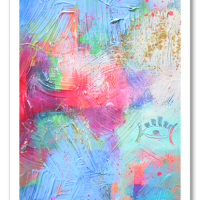 """«<a href=""""https://www.etsy.com/ca/listing/199287505/guided-original-6×8-abstract-painting"""" target=""""_blank"""" title=""""Guided"""">Guided</a>»"""