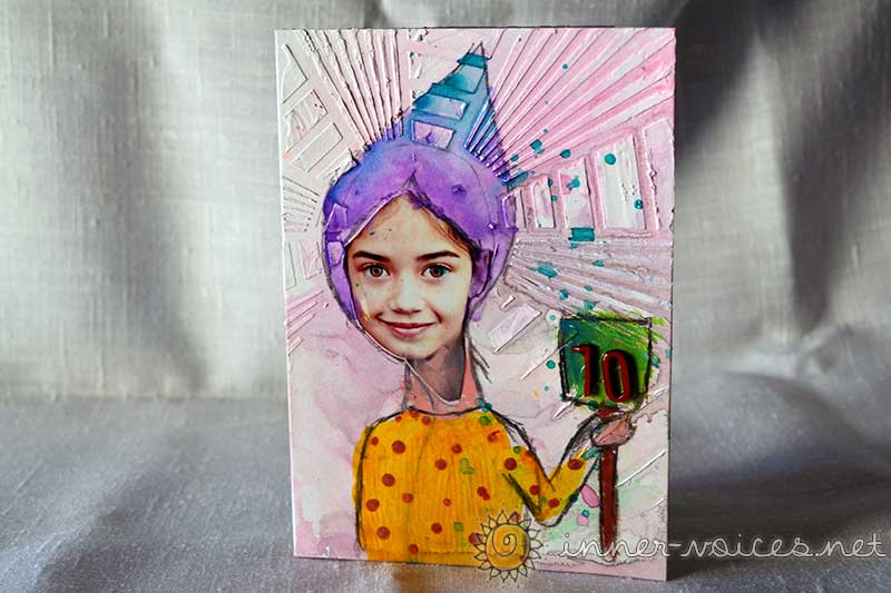 ColourArte birthday card