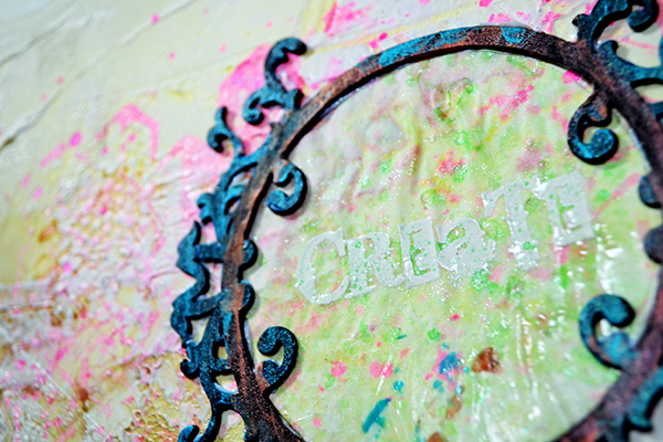 Create art journal page by Nolwenn Barre Petitbois