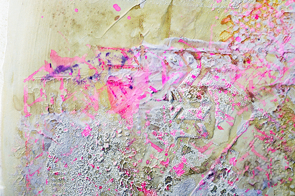 Create art journal page by Nolwenn Barre Petitbois