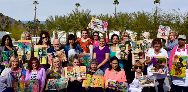 Brian Kasstle's group photo after his Totems class.