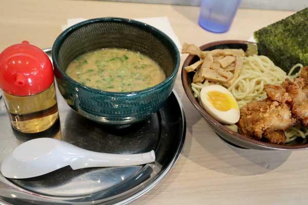 Tsukemen from the restaurant Gojiro Ramen in Vancouver