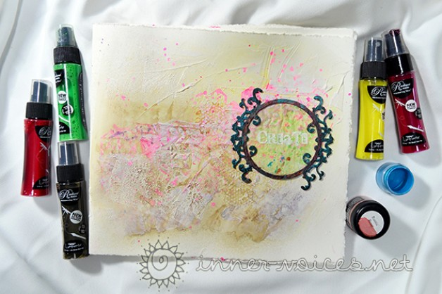 {Art Journaling In Motion} video with ColourArte: Create